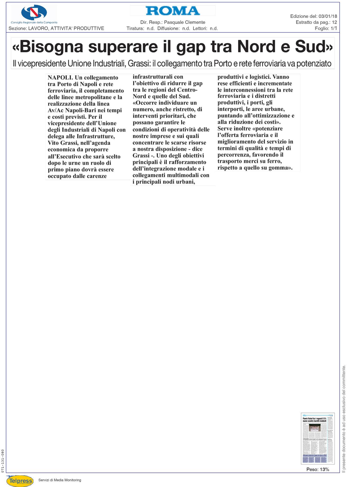3-Gennaio-2018-il-roma-quotidiano