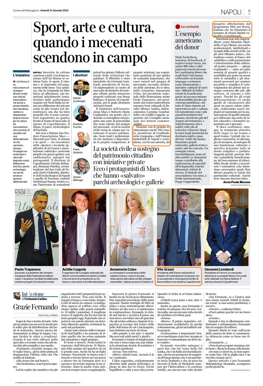 Corriere del SUD Cultura